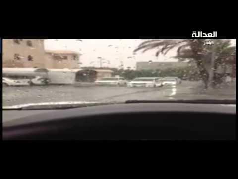 الكويت غرقت في ساعتين مطر ... فيديوهات حصرية للامطار