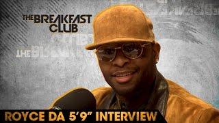 "Video Royce Da 5'9"" Interview at The Breakfast Club Power 105.1 (04/19/2016) MP3, 3GP, MP4, WEBM, AVI, FLV Januari 2018"