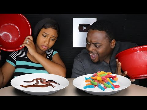 ASMR GUMMY FOOD VS REAL FOOD CHALLENGE | ASMR EATING NO TALKING MUKBANG | BEAUTY AND THE BEAST ASMR