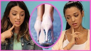Video NikiAndGabiBeauty DIY Glitter High Heels | Niki and Gabi DIY or DI-Don't! MP3, 3GP, MP4, WEBM, AVI, FLV Juni 2018