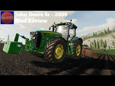 John Deere 8R 2009 v1.0.0.0