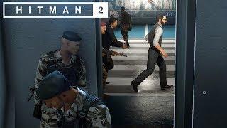 SMYGER I GARAGET | Hitman 2 | #