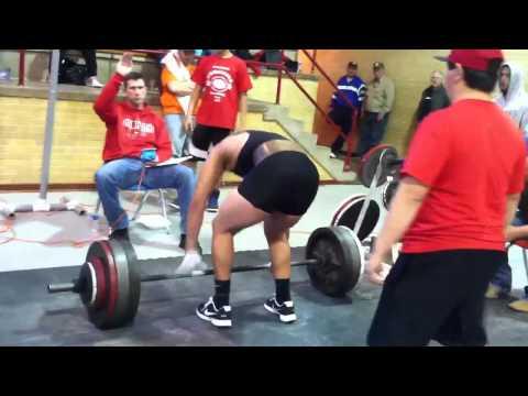 Aaron Allen  dead lifting 600!