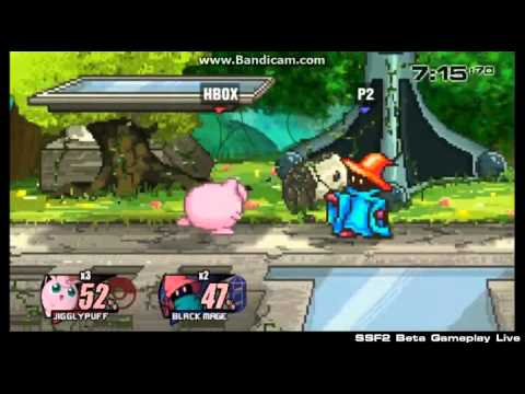 Hungrybox playing SSF2 at APEX 2015