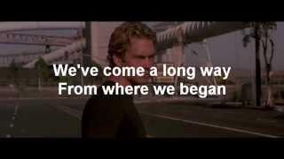 Nonton Wiz Khalifa - See You Again ft. Charlie Puth Lyrics (Paul Walker Tribute) Film Subtitle Indonesia Streaming Movie Download