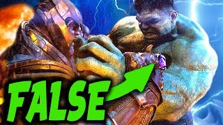 Video CONFIRMED: The REAL REASON Why THANOS Easily Beat The Hulk & What it Means for Avengers EndGame MP3, 3GP, MP4, WEBM, AVI, FLV Maret 2019