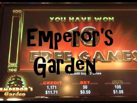 Emperor's Garden Slot Machine Bonus - A quickie! ~ Ainsworth