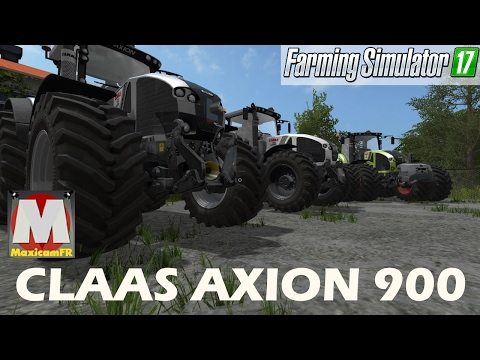 Claas Axion 900 series by  Smety (CMT)