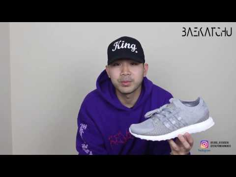 Adidas x Pusha T EQT Ultra Boost - DOPE?! - Unboxing | Review | On Feet