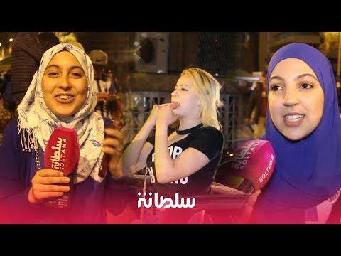 العرب اليوم - شاهد: احتفالات جماهير طنجة الرقص والزغاريد تملأ الشوارع
