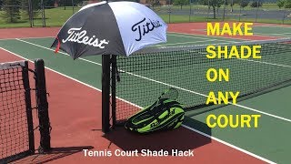 Want these products? Click below! Babolat Pure Aero Racquet Bag http://amzn.to/2qziERkTitleist Golf Umbrella http://amzn.to/2sbK7d4Remove umbrella during play to prevent any risk of damage to your umbrella or injury to yourself or other players