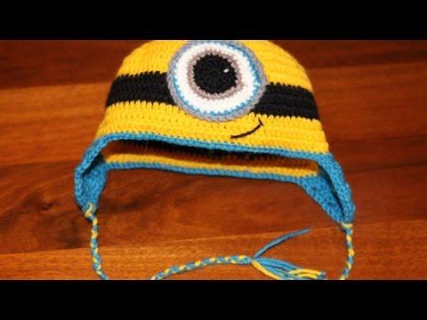 uncinetto - carinissimo cappello minions!