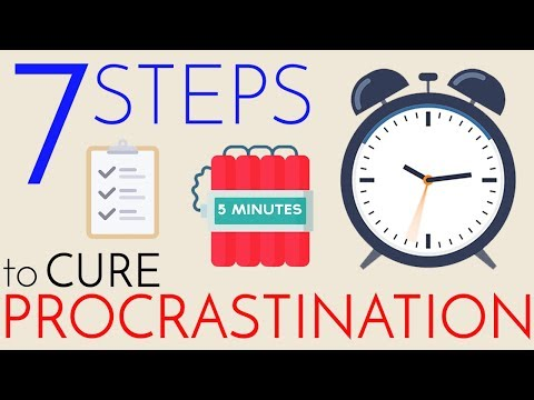 Procrastination – 7 Steps to Cure