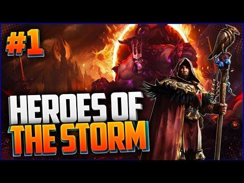 Heroes of the Storm #1 - САПОРТИМ НА МЕДИВЕ
