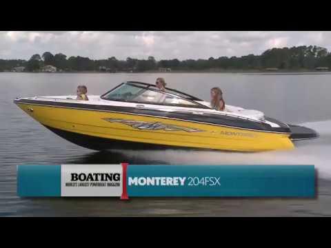 Monterey Boats 204FS Boating Magazine Walk Through