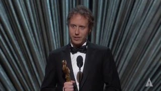 """Son of Saul"" winning Foreign Language Film: 2016 Oscars"
