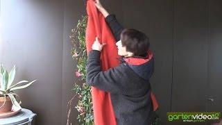 #1422 Aussortierte Alltagsstoffe für den Winterschutz Sabine Reber