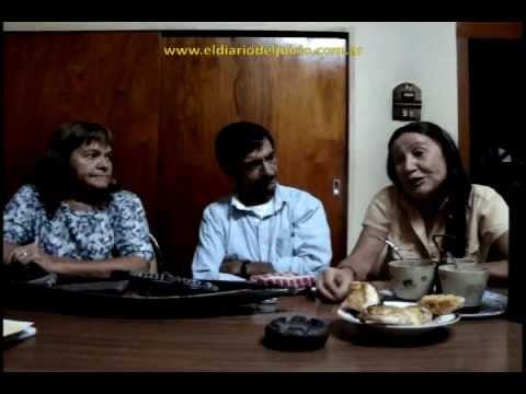 Tito, Silvia y María - hermanos de Ana Villanueva