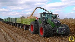 Video Road Train / Fendt 1050 Vario / 10 X HW80 / Gewicht 118 Tonnen / Gut Grambow / Maisernte 2018 MP3, 3GP, MP4, WEBM, AVI, FLV Desember 2018