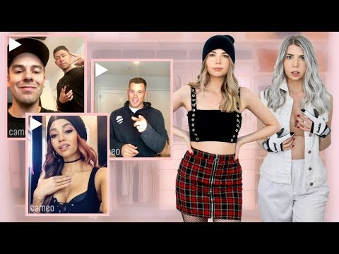 Letting Celebrities Pick My Outfits For A Week...