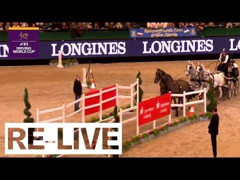 LIVE 🔴 | Driving Part 1 | Leipzig (GER) | FEI Driving World Cup™
