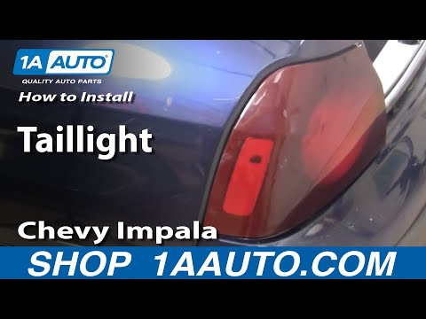 How To Install Replace Taillight Chevy Impala 00-05 1AAuto.com