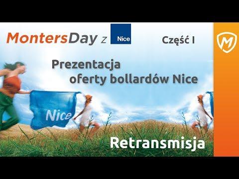 Prezentacja oferty bollardów Nice. MontersDay Cz.1