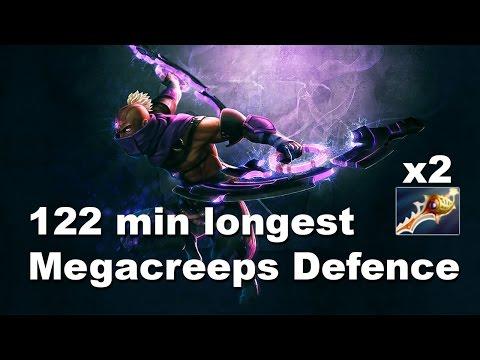 122 min Longest Megacreeps Defence С9 vs VP.Polar Dota 2