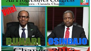 Prof Yemi Osinbajo Skype call With APC Members In Diaspora (Canada) Part 1