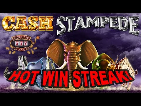 Cash Stampede Paying Out!!