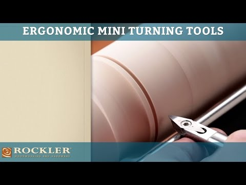 Rockler Ergonomic Mini Turning Tools