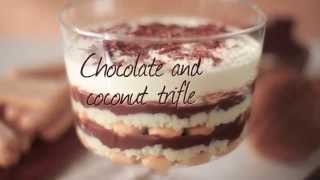 Chocolate Coconut Custard