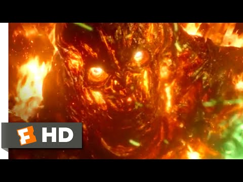 Spider-Man: Far From Home (2019) - Spider-Man & Mysterio vs. Molten Man Scene (3/10) | Movieclips
