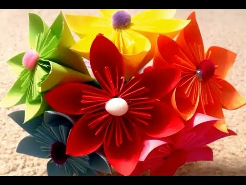 Tutorial- Bouqet of Paper Flowers