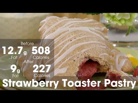 Strawberry Toaster Pastry, Made Healthier: Steven & Chris