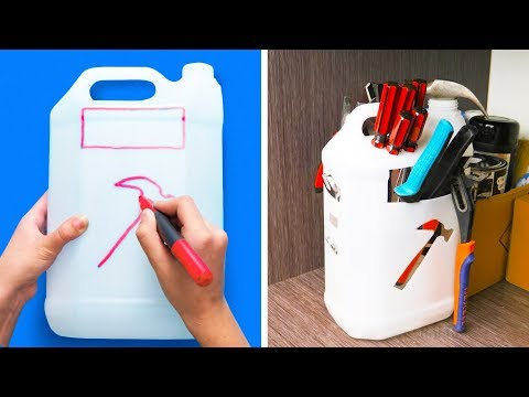 28 IDEAS PARA RECICLAR BOTELLAS DE PLÁSTICO