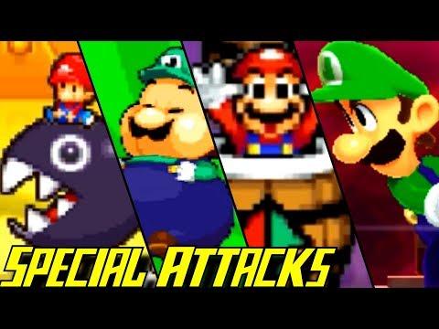 Evolution of Special Attacks in Mario & Luigi Games (2003-2017) (видео)