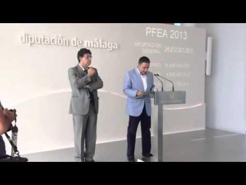 Firma del convenio del Programa de Fomento del Empleo Agrario 2013 para Málaga