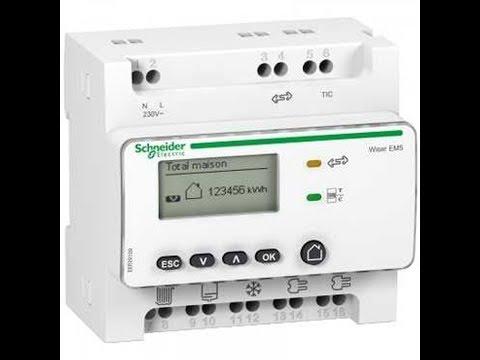 COMPTEUR D'ENERGIE WISER - EER39000 SCHNEIDER RT2012