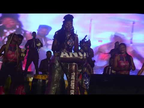 ANU THE LADY EKWE AND ARA THUNDER PAVING THE WAY AT DRUMS FESTIVAL 2018