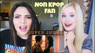 Video LATINA NONKPOP FAN REACTS SUPER JUNIOR 슈퍼주니어 'Lo Siento (Feat. Leslie Grace)' MV MP3, 3GP, MP4, WEBM, AVI, FLV Juli 2018