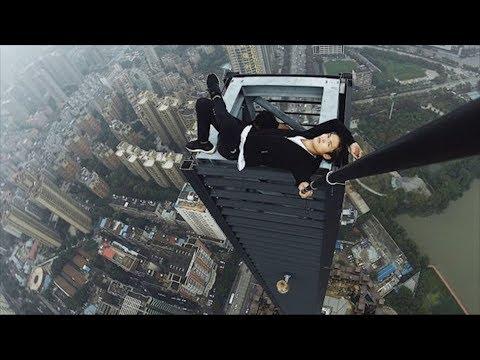 Chinese Daredevil Dies During Skyscraper Stunt   What's Trending Now!