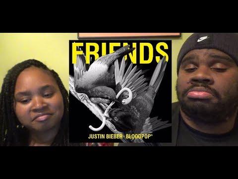 JUSTIN BIEBER X BLOODPOP - FRIENDS - REACTION
