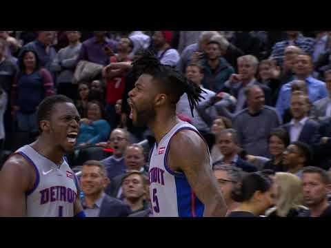 Video: Reggie Bullock's Buzzer Beater Wins It For The Pistons! | November 14, 2018