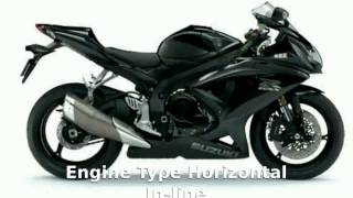 1. motosheets - 2004 Suzuki GSX-R 600 Details, Specification