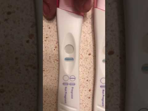 8 DPO Pregnancy Test June 2017 (Faint Line) :(