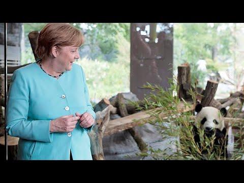 Συνάντηση Μέρκελ με τον πρόεδρο της Κίνας
