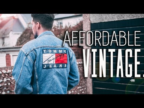 Affordable VINTAGE Mens Fashion Haul! - Tommy Hilfiger, Polo Ralph Lauren & More