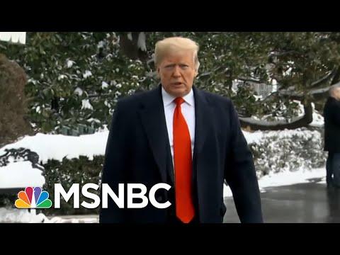 The Washington Post: President Trump Frustrated, Isolated In Shutdown Fight | Hardball | MSNBC