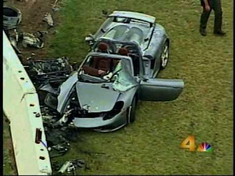 Porsche carrera gt crashes фото